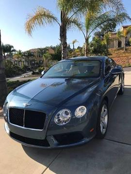2013 Bentley Continental GT V8 for sale in San Bruno, CA