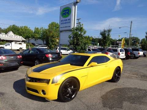Used 2011 Chevrolet Camaro For Sale In Tennessee