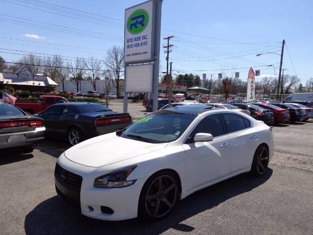 2012 Nissan Maxima 35 S 4dr Sedan In Murfreesboro Tn Rite Ride Inc
