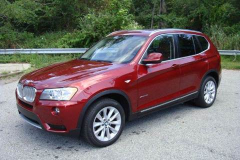 2011 BMW X3 for sale at Positive Auto Sales, LLC in Hasbrouck Heights NJ