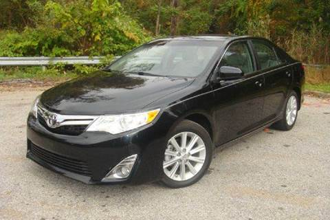 2012 Toyota Camry for sale at Positive Auto Sales, LLC in Hasbrouck Heights NJ