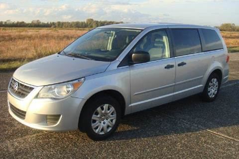 2011 Volkswagen Routan for sale at Positive Auto Sales, LLC in Hasbrouck Heights NJ