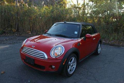 2009 MINI Cooper for sale at Positive Auto Sales, LLC in Hasbrouck Heights NJ