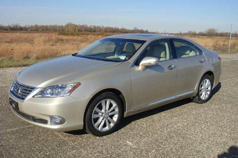 2012 Lexus ES 350 for sale at Positive Auto Sales, LLC in Hasbrouck Heights NJ
