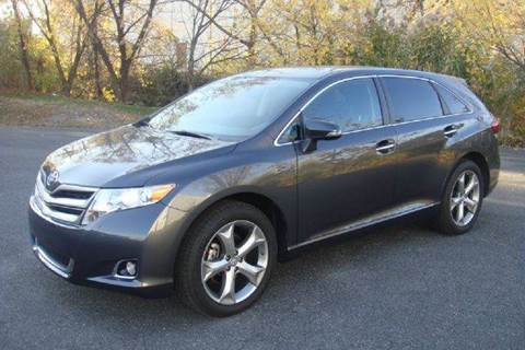 2013 Toyota Venza for sale at Positive Auto Sales, LLC in Hasbrouck Heights NJ