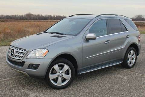 2010 Mercedes-Benz M-Class for sale at Positive Auto Sales, LLC in Hasbrouck Heights NJ