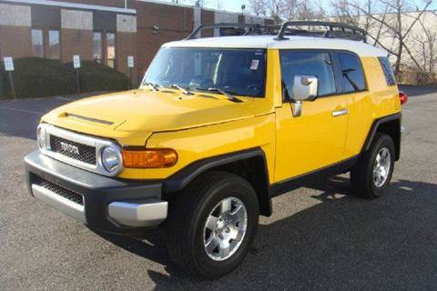 2007 Toyota FJ Cruiser for sale at Positive Auto Sales, LLC in Hasbrouck Heights NJ