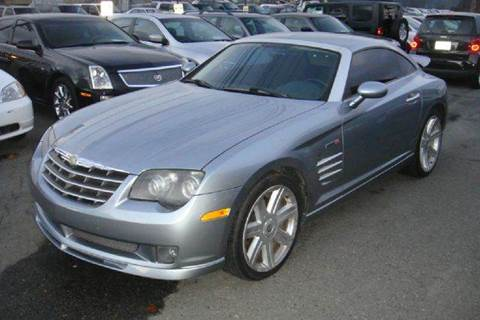 2005 Chrysler Crossfire SRT-6 for sale at Positive Auto Sales, LLC in Hasbrouck Heights NJ