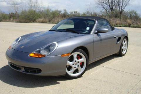 2002 Porsche Boxster for sale at Positive Auto Sales, LLC in Hasbrouck Heights NJ