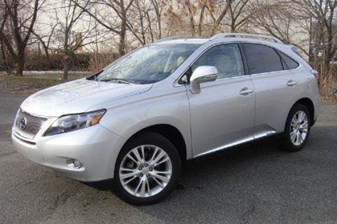 2010 Lexus RX 450h for sale at Positive Auto Sales, LLC in Hasbrouck Heights NJ