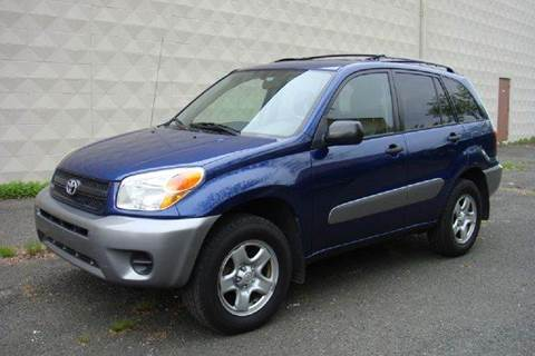 2005 Toyota RAV4 for sale at Positive Auto Sales, LLC in Hasbrouck Heights NJ