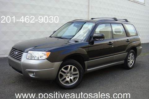 2006 Subaru Forester for sale at Positive Auto Sales, LLC in Hasbrouck Heights NJ