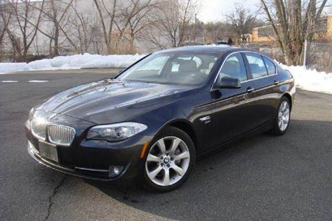 2012 BMW 5 Series for sale at Positive Auto Sales, LLC in Hasbrouck Heights NJ