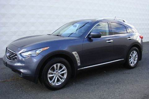 2009 Infiniti FX35 for sale at Positive Auto Sales, LLC in Hasbrouck Heights NJ