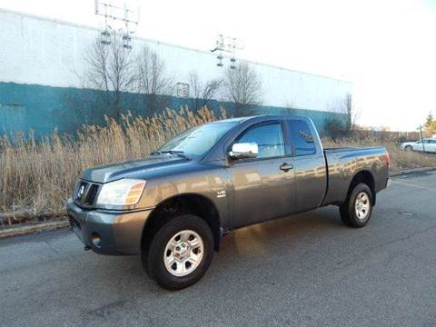 2004 Nissan Titan for sale at Positive Auto Sales, LLC in Hasbrouck Heights NJ