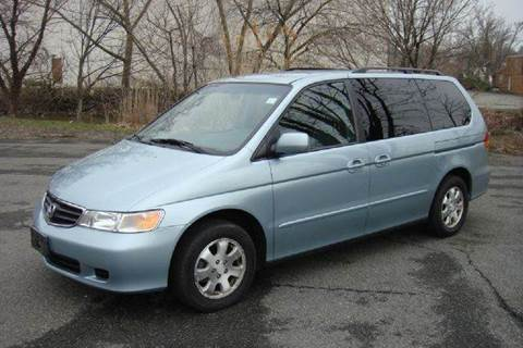 2003 Honda Odyssey for sale at Positive Auto Sales, LLC in Hasbrouck Heights NJ