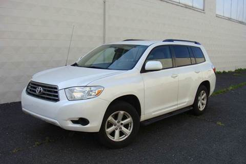 2008 Toyota Highlander for sale at Positive Auto Sales, LLC in Hasbrouck Heights NJ