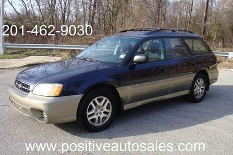 2003 Subaru Outback for sale at Positive Auto Sales, LLC in Hasbrouck Heights NJ