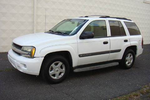 2003 Chevrolet TrailBlazer for sale at Positive Auto Sales, LLC in Hasbrouck Heights NJ
