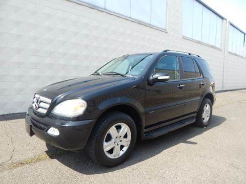 2005 Mercedes-Benz M-Class for sale at Positive Auto Sales, LLC in Hasbrouck Heights NJ