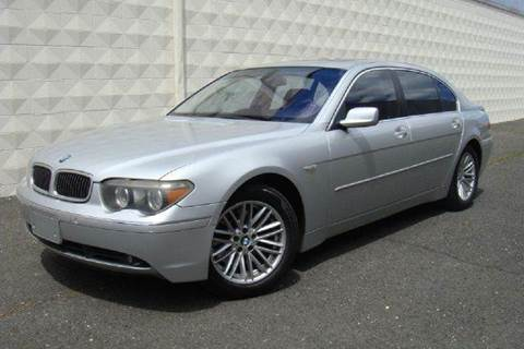 2005 BMW 7 Series for sale at Positive Auto Sales, LLC in Hasbrouck Heights NJ
