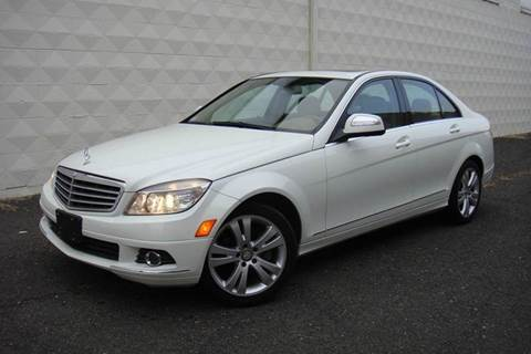 2008 Mercedes-Benz C-Class for sale at Positive Auto Sales, LLC in Hasbrouck Heights NJ