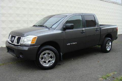 2005 Nissan Titan for sale at Positive Auto Sales, LLC in Hasbrouck Heights NJ