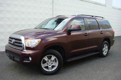 2008 Toyota Sequoia for sale at Positive Auto Sales, LLC in Hasbrouck Heights NJ