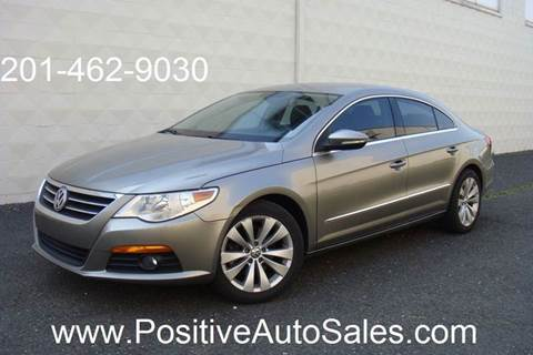 2010 Volkswagen CC for sale at Positive Auto Sales, LLC in Hasbrouck Heights NJ