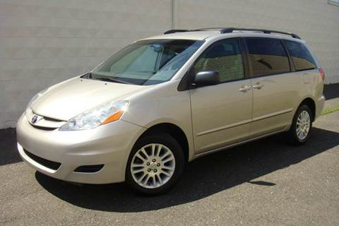 2009 Toyota Sienna for sale at Positive Auto Sales, LLC in Hasbrouck Heights NJ