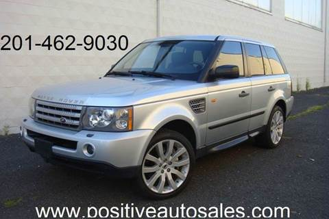 2007 Land Rover Range Rover Sport for sale at Positive Auto Sales, LLC in Hasbrouck Heights NJ