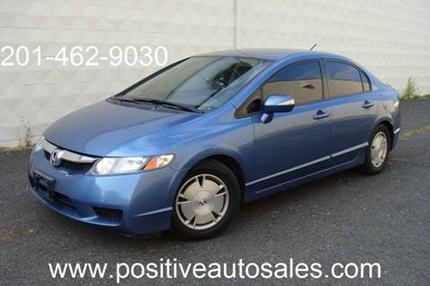 2009 Honda Civic for sale at Positive Auto Sales, LLC in Hasbrouck Heights NJ