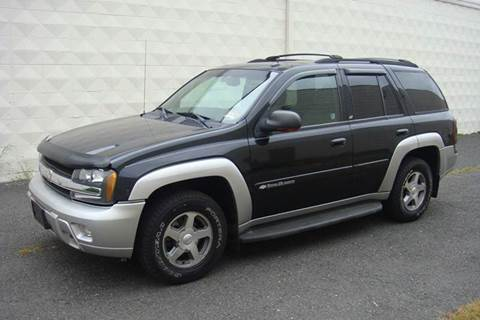 2004 Chevrolet TrailBlazer for sale at Positive Auto Sales, LLC in Hasbrouck Heights NJ