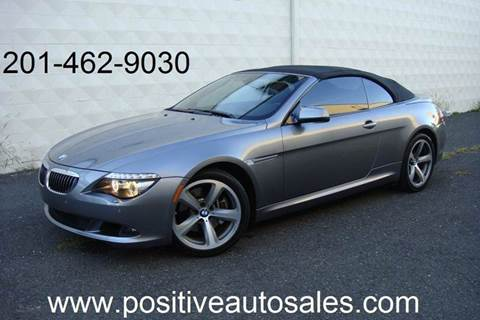2010 BMW 6 Series for sale at Positive Auto Sales, LLC in Hasbrouck Heights NJ