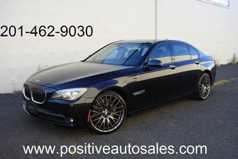 2009 BMW 7 Series for sale at Positive Auto Sales, LLC in Hasbrouck Heights NJ