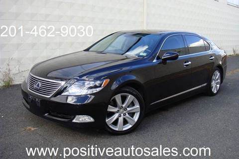 2008 Lexus LS 600h L for sale at Positive Auto Sales, LLC in Hasbrouck Heights NJ