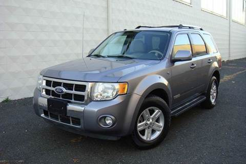 2008 Ford Escape Hybrid for sale at Positive Auto Sales, LLC in Hasbrouck Heights NJ