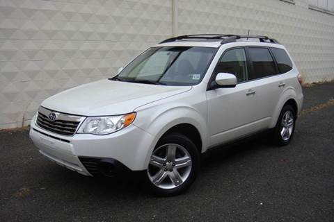 2010 Subaru Forester for sale at Positive Auto Sales, LLC in Hasbrouck Heights NJ