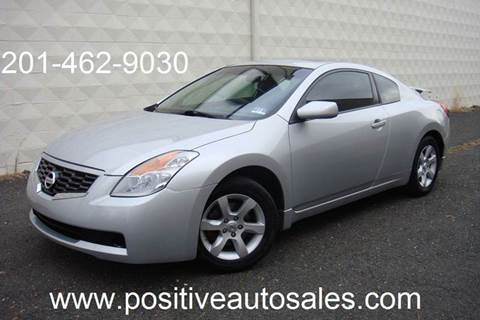 2009 Nissan Altima for sale at Positive Auto Sales, LLC in Hasbrouck Heights NJ
