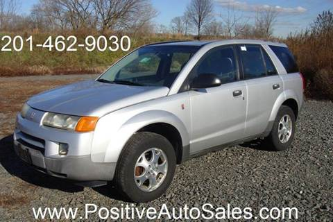 2003 Saturn Vue for sale at Positive Auto Sales, LLC in Hasbrouck Heights NJ