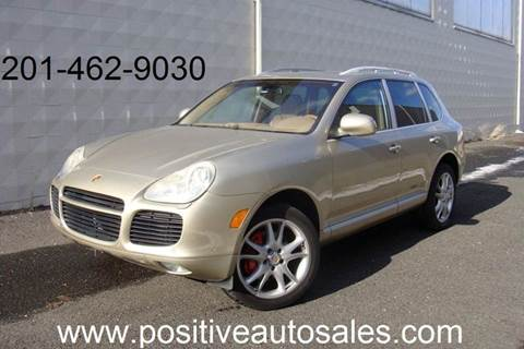 2005 Porsche Cayenne for sale at Positive Auto Sales, LLC in Hasbrouck Heights NJ
