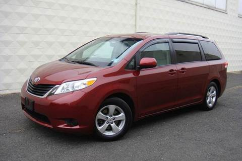 2011 Toyota Sienna for sale at Positive Auto Sales, LLC in Hasbrouck Heights NJ