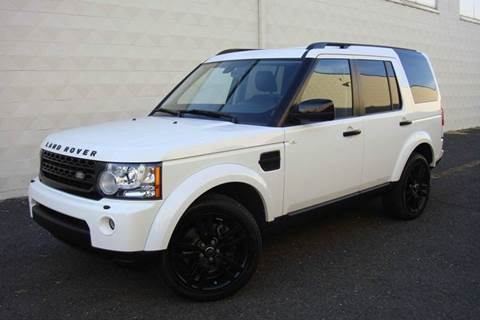 2013 Land Rover LR4 for sale at Positive Auto Sales, LLC in Hasbrouck Heights NJ