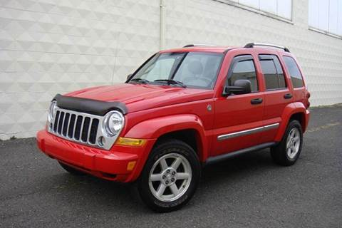 2005 Jeep Liberty for sale at Positive Auto Sales, LLC in Hasbrouck Heights NJ