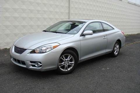 2007 Toyota Camry Solara for sale at Positive Auto Sales, LLC in Hasbrouck Heights NJ