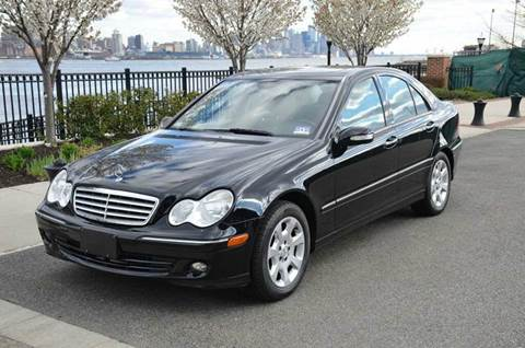 2006 Mercedes-Benz C-Class for sale at Positive Auto Sales, LLC in Hasbrouck Heights NJ