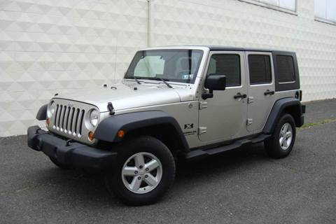 2007 Jeep Wrangler Unlimited for sale at Positive Auto Sales, LLC in Hasbrouck Heights NJ