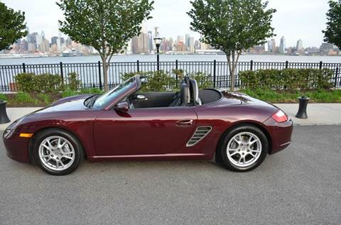 2005 Porsche Boxster for sale at Positive Auto Sales, LLC in Hasbrouck Heights NJ