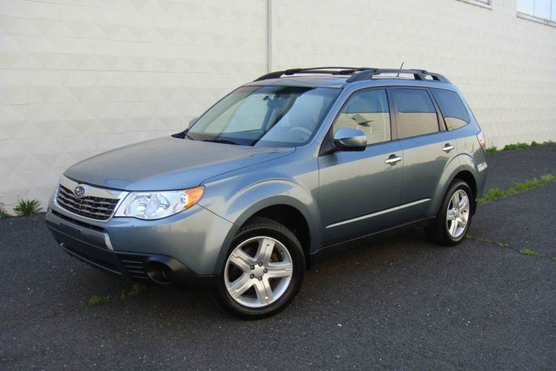 2009 Subaru Forester for sale at Positive Auto Sales, LLC in Hasbrouck Heights NJ