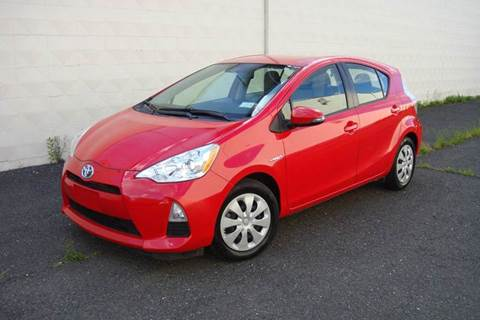 2014 Toyota Prius c for sale at Positive Auto Sales, LLC in Hasbrouck Heights NJ